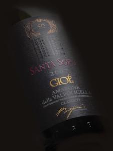 Santa Sofia-Dettaglio etichetta Gioè Amarone 2007