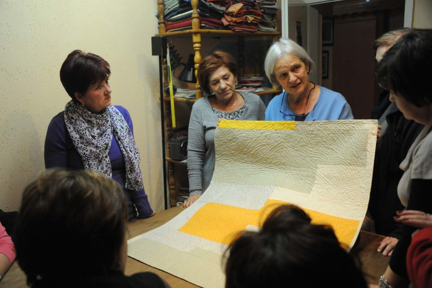 A tale of new beginnings: <br>The Bosna Quilt Lab